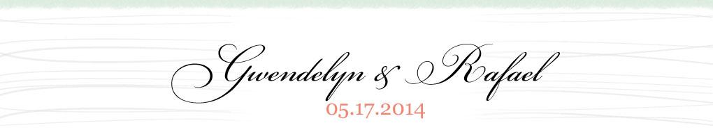 Gwen & Raf's Wedding